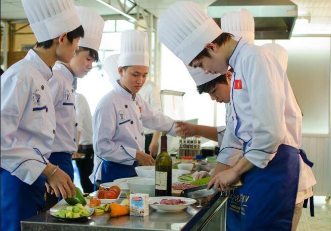 Những trường đại học đào tạo ngành đầu bếp