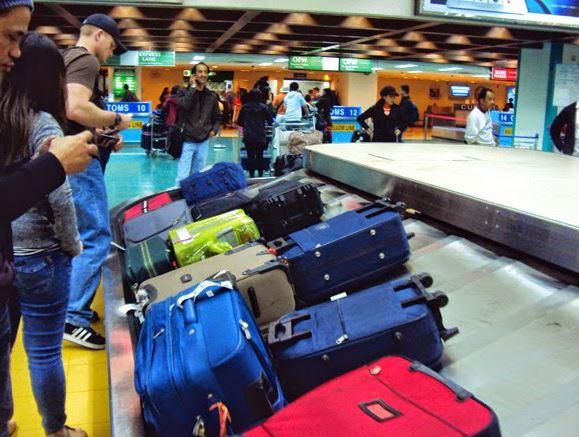 Điền đầy đủ thông tin trên hành lý