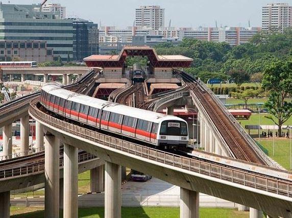Xe điện ngầm MRT  của Singapore