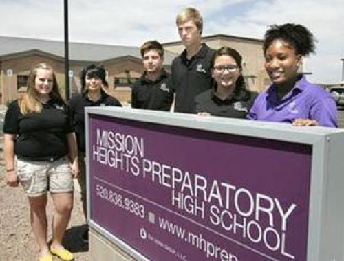 Sinh viên học tập tại trường Mission Heights