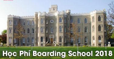 Học Phí Boarding School 2018