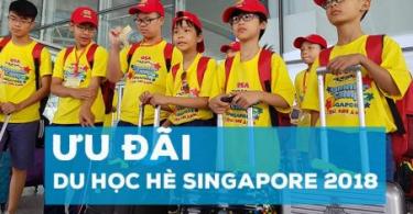du học hè Singapore Lion Island 2018