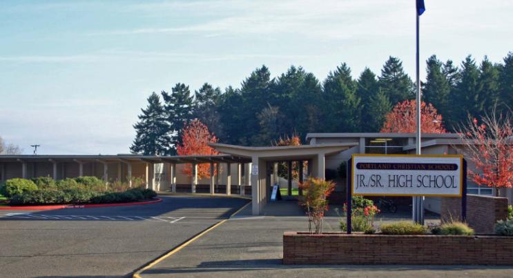 Khuôn viên trường Portland Christian High School