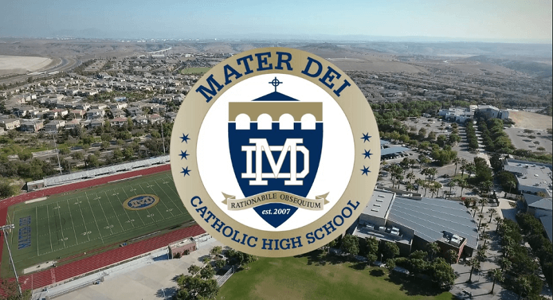 mater dei catholic high school illinois